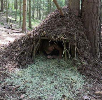 Biwak shelter survival schlafen