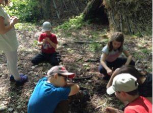 Survival schulprojekt dachsbau wildniscamp